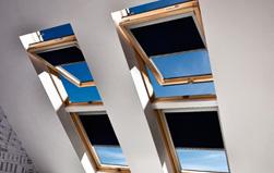 Bild - Dachfenster Rollos